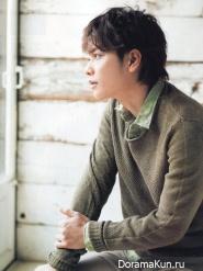 Sato Takeru для SODA May 2014