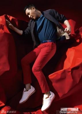 Han Geng для Men's Uno May 2014