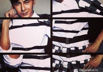 Joe Cheng для ManMag 2014