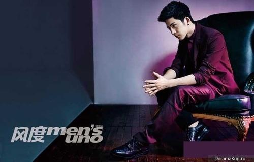 Jing Boran for Men's UNO April 2014