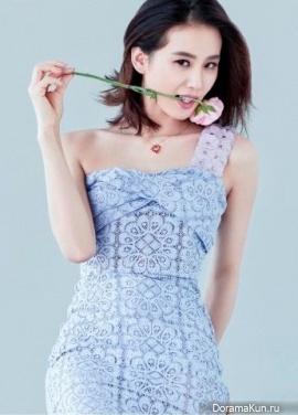 Liu Shishi для Vogue June 2014