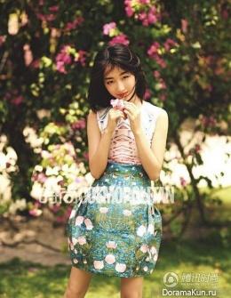Zhou Dongyu для Cosmopolitan May 2014