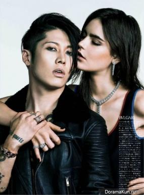 Miyavi для Vogue 2014
