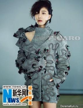 Wang Luodan для Figaro November 2014