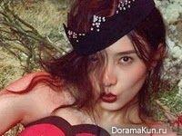 Song Jia для Elle November 2014