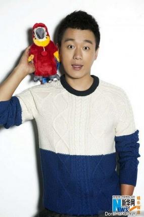 Tong Dawei для Vogue December 2014