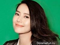 Gao Yuanyuan для Grazia December 2014