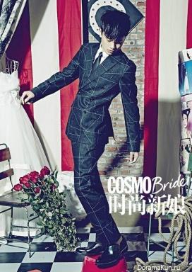 Zhang Jie для COSMO Bride October 2014