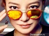 Zhao Wei для Cosmopolitan October 2015