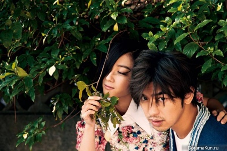 Bolin Chen и Gwei Lun Mei for Marie Claire March 2015