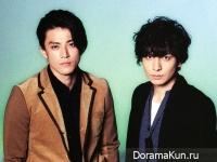 Ikuta Toma и Oguri Shun для TVfan CROSS February 2015