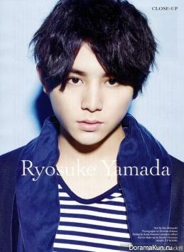 Yamada Ryosuke для Men's Non-No April 2015