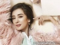 Yang Mi для Elle April 2015