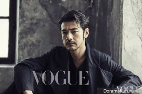 Takeshi Kaneshiro для Vogue Decemder 2016