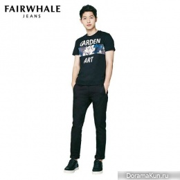 Song Joong Ki для Mark Fairwhale Jeans 2016