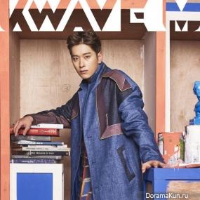 Hwang Chan Sung для K Wave M December 2016