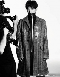 Yang Yang для L'Officiel Hommes 2016