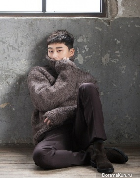 Park Seo Joon для Harper's Bazaar