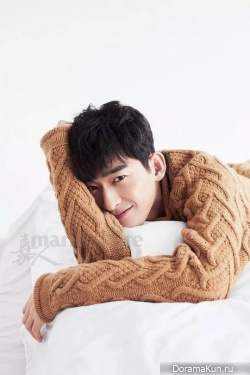 Zhang Han для Maria Claire December 2016