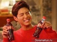 Park Bo Gum для Coca-Cola 2016