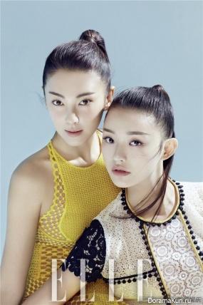 Kitty Zhang, Lin Yun для Elle February 2016