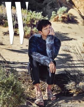 Song Joong Ki для W Korea May 2017