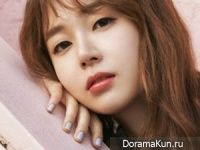 Baek Jin Hee для InStyle May 2017