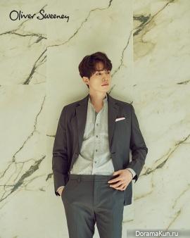 Lee Dong Wook для Oliver Sweeney 2017
