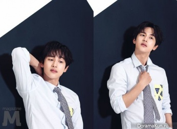 Jin Goo, Im Siwan для M Magazine April 2017
