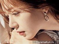 Baek Jin Hee для Singles March 2017