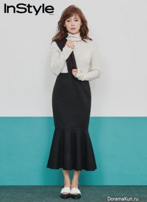 Nam Sang Mi для InStyle February 2017