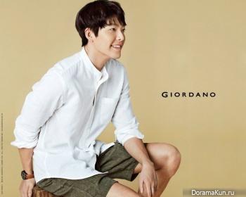 Kim Woo Bin для Giordano 2017