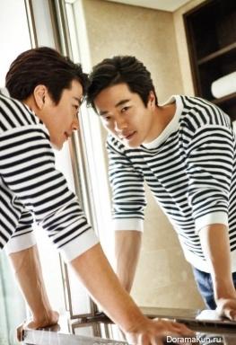 Kwon Sang Woo для Grazia February 2017