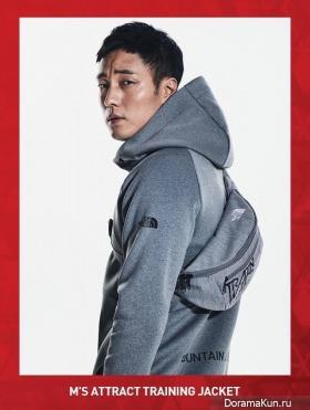 So Ji Sub для The North Face 2017