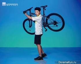 Ryu Jun Yeol для Samchuly Bike 2017