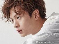 Yook Sung Jae для GQ March 2017