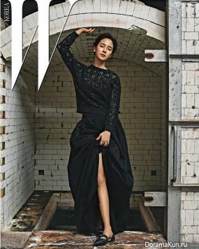 Song Ji Hyo для W Korea January 2017