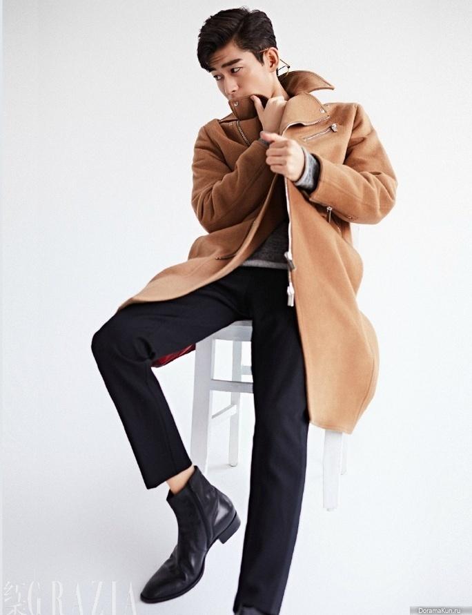 Zhang Han для Grazia January 2017 - Фотосессии