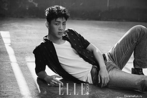 Kim Ji Soo для Elle Fabruary 2017