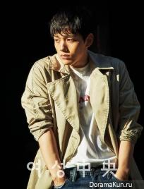 Yeo Jin Goo для JoongAng June 2017