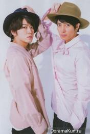 Kamenashi Kazuya, Yamashita Tomohisa для TV Navi May 2017