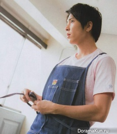 Yamashita Tomohisa для Myojo May 2017