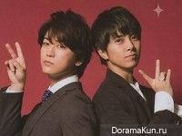Kamenashi Kazuya, Yamashita Tomohisa для Myojo May 2017