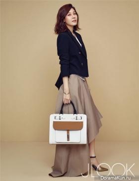 Kim Ha Neul для J LOOK 2017