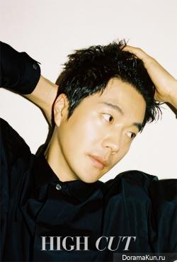 Kwon Sang Woo для Нigh Сut March 2017