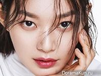 Shin Min Ah для Elle April 2017