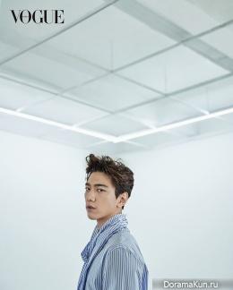 Sung Joon для Vogue April 2017
