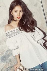 Suzy (Miss A) для GUESS 2017