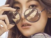 Oh Yeon Seo для Grazia April 2017