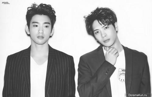 Jackson, Jinyoung (GOT7) для Oh Boy May 2017